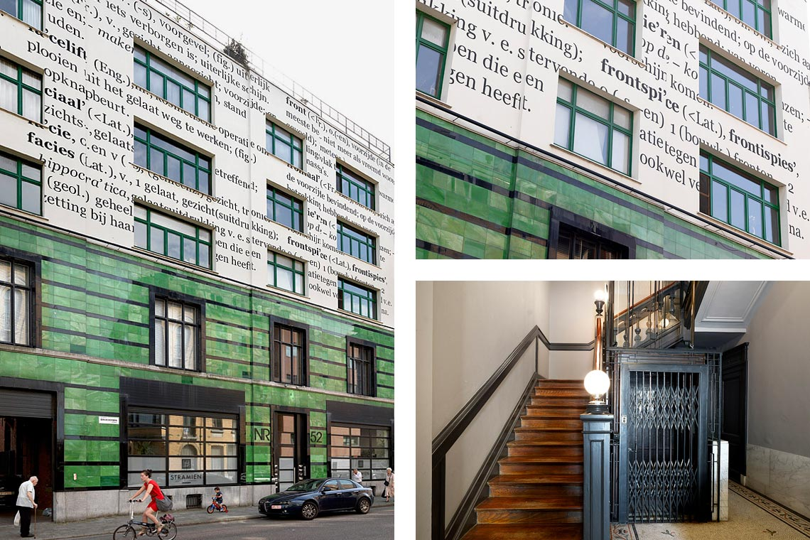 Broederminstraat 52 - The Building - Peace in the City